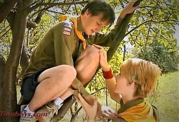 Boy Scouts Very Cute